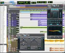 Pro Tools 10 GUI