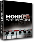 Hohner White Baby Grand Box
